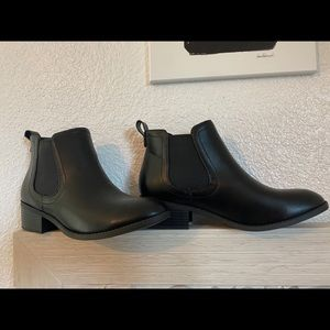Booties never worn